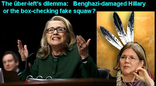 Hillary or the Squaw