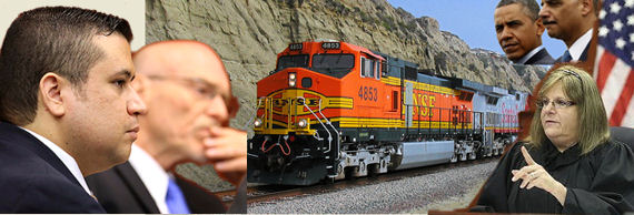 Railroading George