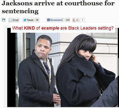 Jesse Jr and Wife to Prison