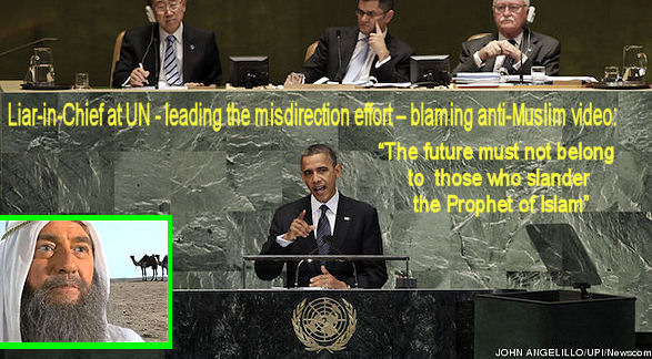 Obama lying at the UN