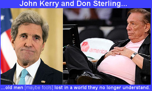 John Kerry and Don Sterling
