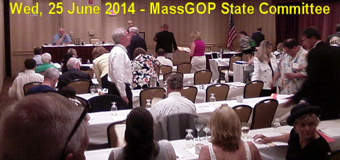 Wed, 25 June 2014 - MassGOP State Committee