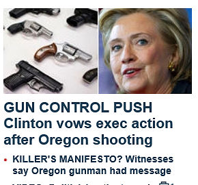 Hillary promises Executive Action