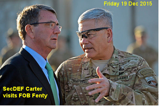 Ash Carter at FOB Fenty