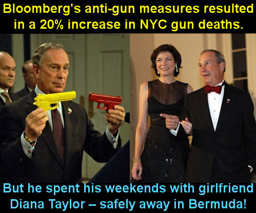 Bloomberg anti gun campaign