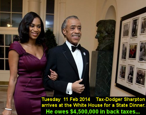 Sharpton White House guest
