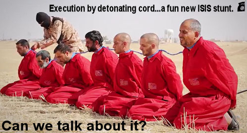 ISIS execution by det cord