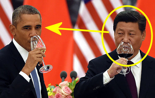 Obama plays Xi Jinping's fool