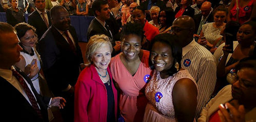 Hillary's Black supporters