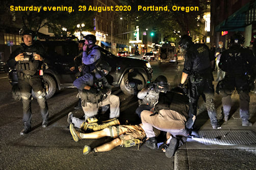 Patriot Killed At Portland Trump Rally